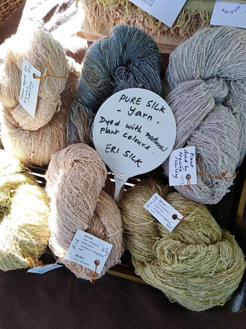 Natural Handspun Yarn